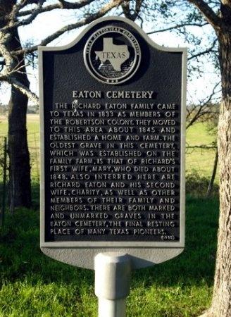 *HISTORIC CEMETERY MARKER,  - Limestone County, Texas |  *HISTORIC CEMETERY MARKER - Texas Gravestone Photos