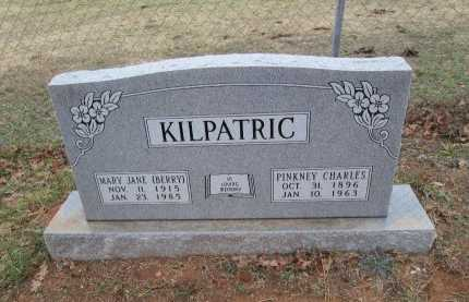 KILPATRIC, PINKNEY CHARLES - Limestone County, Texas | PINKNEY CHARLES KILPATRIC - Texas Gravestone Photos
