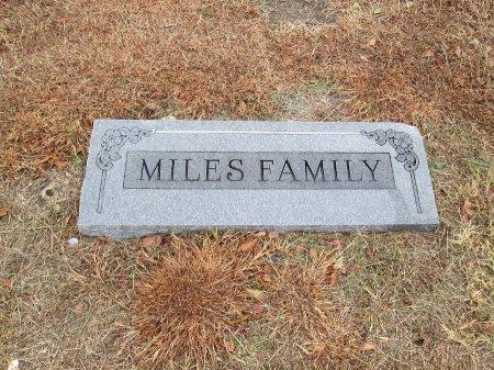 MILES, FAMILY MARKER - Limestone County, Texas   FAMILY MARKER MILES - Texas Gravestone Photos