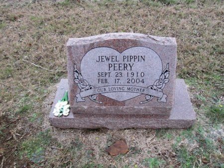 PIPPIN PEERY, JEWEL - Limestone County, Texas | JEWEL PIPPIN PEERY - Texas Gravestone Photos