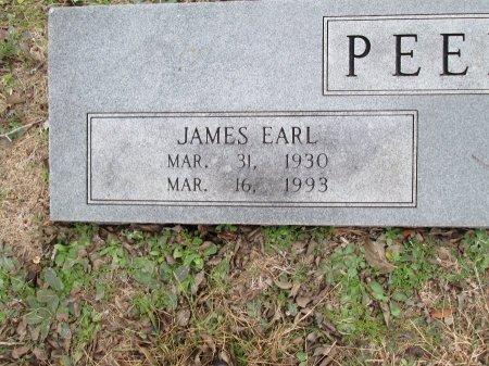 PEERY, JAMES EARL (CLOSEUP) - Limestone County, Texas | JAMES EARL (CLOSEUP) PEERY - Texas Gravestone Photos