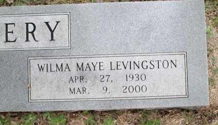LEVINGSTON PEERY, WILMA MAYE (CLOSEUP) - Limestone County, Texas | WILMA MAYE (CLOSEUP) LEVINGSTON PEERY - Texas Gravestone Photos