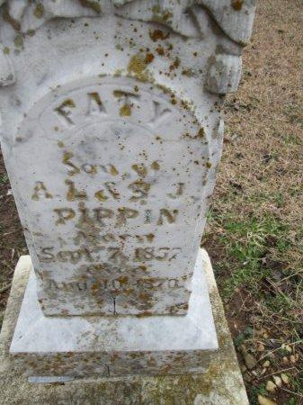PIPPIN, FATY (CLOSEUP) - Limestone County, Texas | FATY (CLOSEUP) PIPPIN - Texas Gravestone Photos