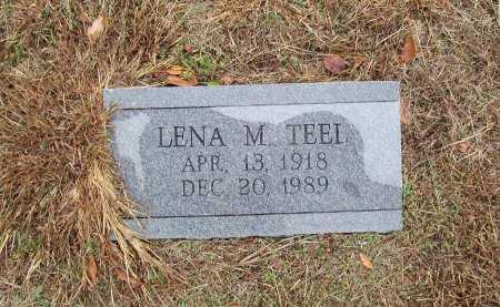 TEEL, LENA M. - Limestone County, Texas   LENA M. TEEL - Texas Gravestone Photos