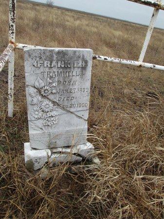 TRAMMELL, FRANK E. - Limestone County, Texas | FRANK E. TRAMMELL - Texas Gravestone Photos
