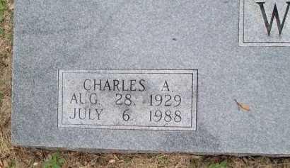 WILSON, CHARLES A. (CLOSEUP) - Limestone County, Texas | CHARLES A. (CLOSEUP) WILSON - Texas Gravestone Photos