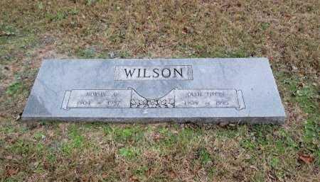 WILSON, NORMIE A. - Limestone County, Texas | NORMIE A. WILSON - Texas Gravestone Photos