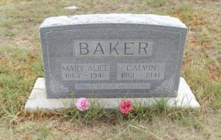 BROWN BAKER, MARY ALICE - Lipscomb County, Texas | MARY ALICE BROWN BAKER - Texas Gravestone Photos
