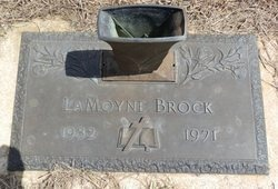 BROCK, LAMOYNE - Lipscomb County, Texas | LAMOYNE BROCK - Texas Gravestone Photos
