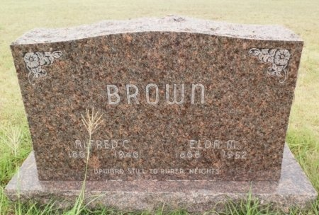 BAKER BROWN, ELDA MARIE - Lipscomb County, Texas | ELDA MARIE BAKER BROWN - Texas Gravestone Photos