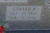 BURTON, EDWARD BILSING (CLOSE UP) - Lipscomb County, Texas | EDWARD BILSING (CLOSE UP) BURTON - Texas Gravestone Photos