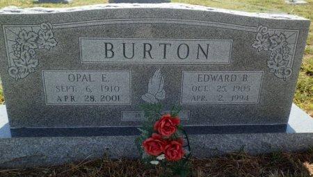 BURTON, OPAL E. - Lipscomb County, Texas   OPAL E. BURTON - Texas Gravestone Photos