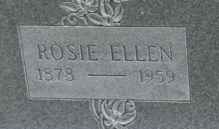CLARK, ROSIE ELLEN (CLOSE UP) - Lipscomb County, Texas | ROSIE ELLEN (CLOSE UP) CLARK - Texas Gravestone Photos