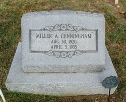 """CUNNINGHAM, MILLER ANDREW """"BUD"""" - Lipscomb County, Texas 