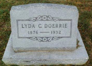 MILLER DOERRIE, LYDA CLARK - Lipscomb County, Texas | LYDA CLARK MILLER DOERRIE - Texas Gravestone Photos