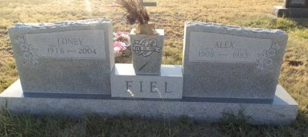 FIEL, LONEY - Lipscomb County, Texas | LONEY FIEL - Texas Gravestone Photos