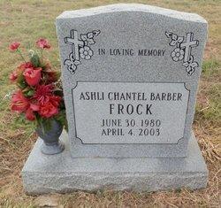 BARBER FROCK, ASHLI CHANTEL - Lipscomb County, Texas | ASHLI CHANTEL BARBER FROCK - Texas Gravestone Photos
