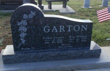 BORN GARTON, ESTHER LENORA - Lipscomb County, Texas | ESTHER LENORA BORN GARTON - Texas Gravestone Photos