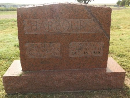 HARBOUR, KIRBY - Lipscomb County, Texas | KIRBY HARBOUR - Texas Gravestone Photos