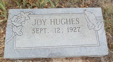 HUGHES, JOY - Lipscomb County, Texas | JOY HUGHES - Texas Gravestone Photos