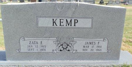 KEMP, ZATA E. - Lipscomb County, Texas | ZATA E. KEMP - Texas Gravestone Photos
