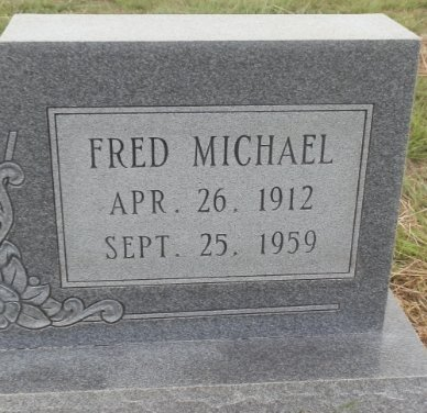 KOCH, FRED MICHAEL (CLOSE UP) - Lipscomb County, Texas | FRED MICHAEL (CLOSE UP) KOCH - Texas Gravestone Photos