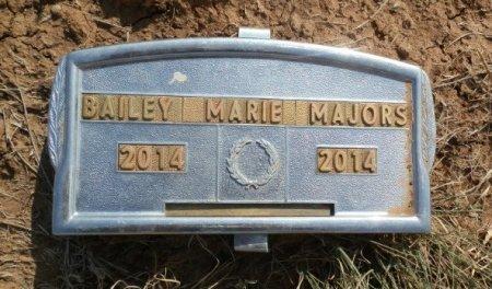 MAJORS, BAILEY MARIE - Lipscomb County, Texas   BAILEY MARIE MAJORS - Texas Gravestone Photos
