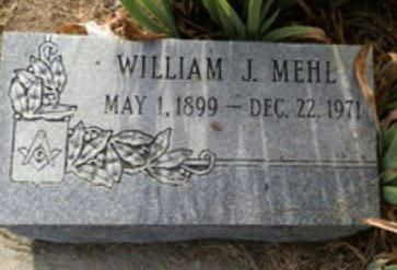 MEHL, WILLIAM J. - Lipscomb County, Texas | WILLIAM J. MEHL - Texas Gravestone Photos