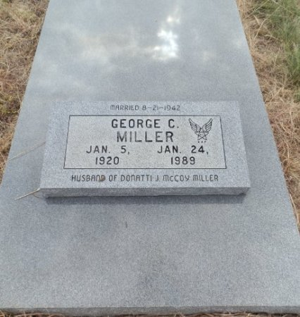 MILLER, GEORGE C. - Lipscomb County, Texas | GEORGE C. MILLER - Texas Gravestone Photos