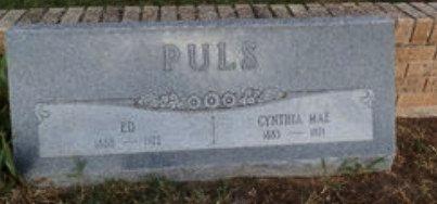 MITCHELL PULS, CYNTHIA MAE - Lipscomb County, Texas | CYNTHIA MAE MITCHELL PULS - Texas Gravestone Photos