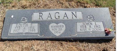 CHAPMAN RAGAN, EDITH ELIZABETH - Lipscomb County, Texas | EDITH ELIZABETH CHAPMAN RAGAN - Texas Gravestone Photos