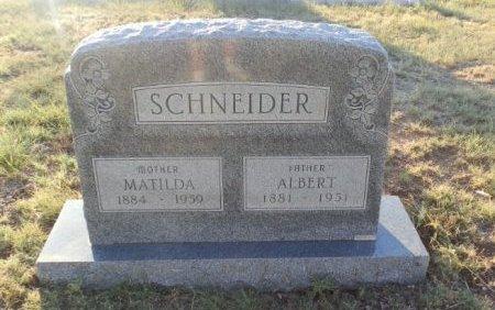SCHNEIDER, ALBERT - Lipscomb County, Texas | ALBERT SCHNEIDER - Texas Gravestone Photos