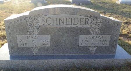 SCHNEIDER, MARY - Lipscomb County, Texas | MARY SCHNEIDER - Texas Gravestone Photos