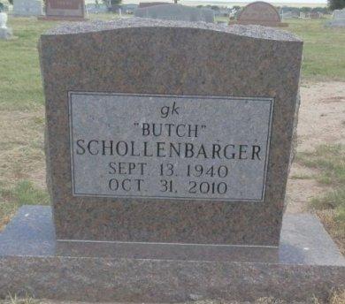 "SCHOLLENBARGER, GEORGE KEITH ""BUTCH"" - Lipscomb County, Texas   GEORGE KEITH ""BUTCH"" SCHOLLENBARGER - Texas Gravestone Photos"