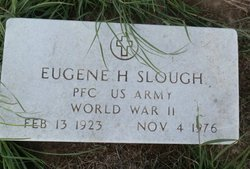 SLOUGH (VETERAN WWII), EUGENE HENRY - Lipscomb County, Texas | EUGENE HENRY SLOUGH (VETERAN WWII) - Texas Gravestone Photos