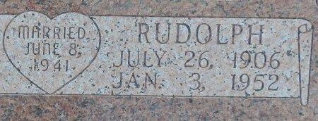 STURTZ, RUDOLPH (CLOSE UP) - Lipscomb County, Texas | RUDOLPH (CLOSE UP) STURTZ - Texas Gravestone Photos