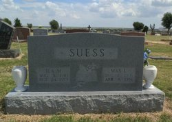 SUESS, ILA  M. - Lipscomb County, Texas | ILA  M. SUESS - Texas Gravestone Photos