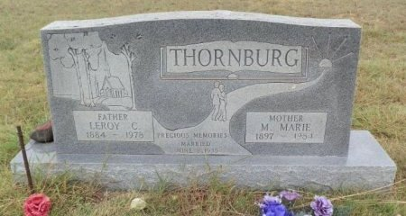 BROWN THORNBURG, MONA MARIE - Lipscomb County, Texas | MONA MARIE BROWN THORNBURG - Texas Gravestone Photos