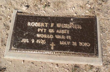 WEIDNER (VETERAN WWII), ROBERT FULTON - Lipscomb County, Texas | ROBERT FULTON WEIDNER (VETERAN WWII) - Texas Gravestone Photos