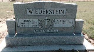 WIEDERSTEIN, ALFRED RUDOLPH - Lipscomb County, Texas | ALFRED RUDOLPH WIEDERSTEIN - Texas Gravestone Photos