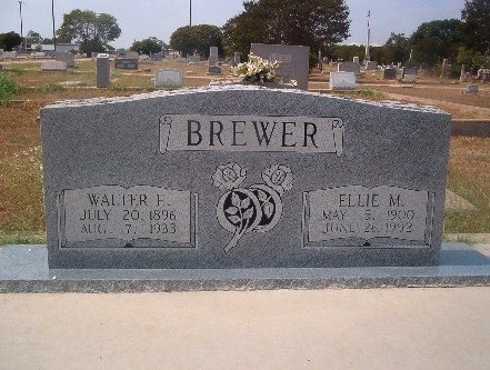LAKER BREWER, ELLIE MAE - Llano County, Texas | ELLIE MAE LAKER BREWER - Texas Gravestone Photos