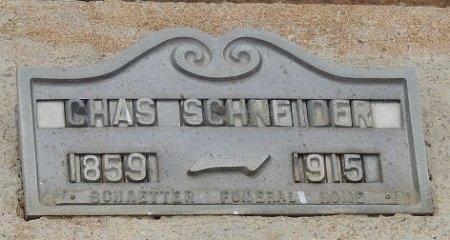 "SCHNEIDER, KARL GEORGE ""CHAS"" - Llano County, Texas | KARL GEORGE ""CHAS"" SCHNEIDER - Texas Gravestone Photos"