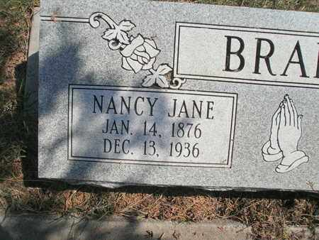 BRAKE, NANCY JANE  (CLOSE UP) - Lubbock County, Texas   NANCY JANE  (CLOSE UP) BRAKE - Texas Gravestone Photos