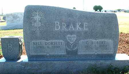 BRAKE, GEORGE ROBERT - Lubbock County, Texas | GEORGE ROBERT BRAKE - Texas Gravestone Photos