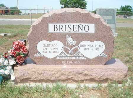 BRISENO, SANTIAGO - Lubbock County, Texas | SANTIAGO BRISENO - Texas Gravestone Photos