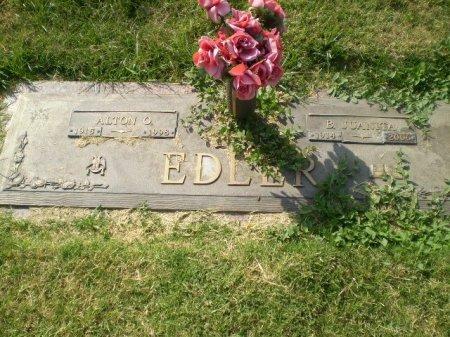 EDLER, ALTON O. - Lubbock County, Texas | ALTON O. EDLER - Texas Gravestone Photos