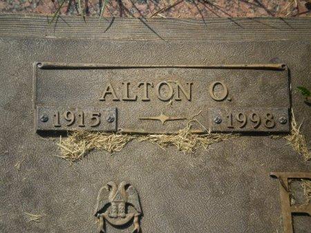 EDLER, ALTON O.  (CLOSEUP) - Lubbock County, Texas | ALTON O.  (CLOSEUP) EDLER - Texas Gravestone Photos