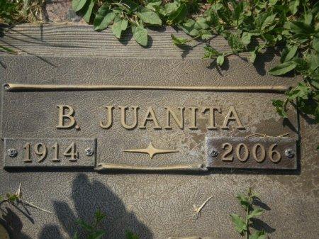 EDLER, B. JUANITA  (CLOSEUP) - Lubbock County, Texas | B. JUANITA  (CLOSEUP) EDLER - Texas Gravestone Photos