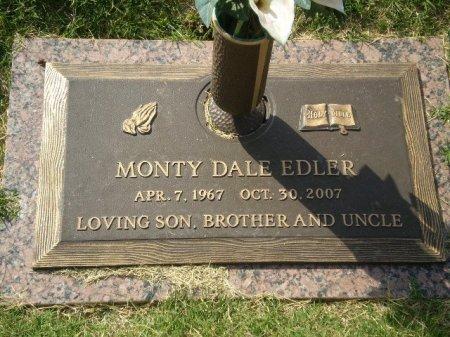 EDLER, MONTY DALE - Lubbock County, Texas | MONTY DALE EDLER - Texas Gravestone Photos