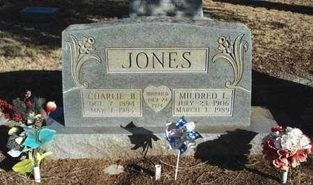 JONES, CHARLIE BUSEY - Lubbock County, Texas | CHARLIE BUSEY JONES - Texas Gravestone Photos